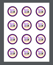 Load image into Gallery viewer, Witch Way To The Candy 2 Package Tag - Dots and Bows Designs