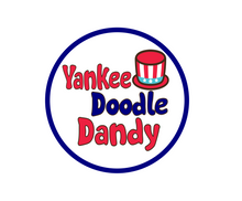 Load image into Gallery viewer, Yankee Doodle Package Tags - Dots and Bows Designs