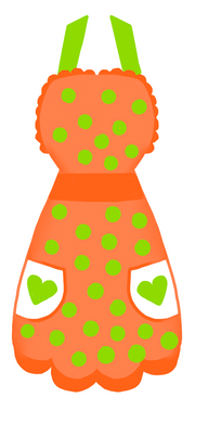 Apron Cutter - Dots and Bows Designs