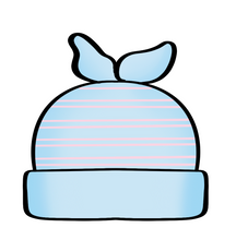 Load image into Gallery viewer, Baby Hat Cutter - Dots and Bows Designs