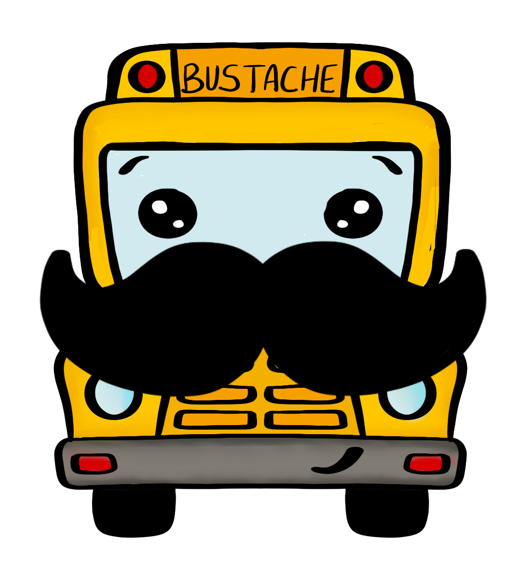 Bustache STL Cutter File - Dots and Bows Designs