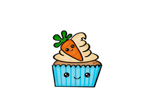 Load image into Gallery viewer, Carrot Cupcake Cutter - Dots and Bows Designs