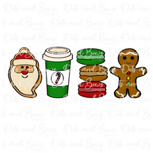 Load image into Gallery viewer, Christmas Goodies Cutters Set