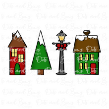 Load image into Gallery viewer, Christmas Village Set Cutters