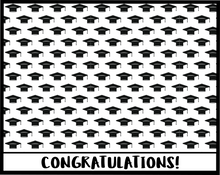 Load image into Gallery viewer, Congratulations Graduation Card 5x4 - Dots and Bows Designs