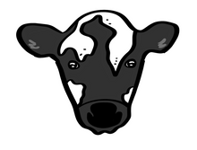 Load image into Gallery viewer, Cow Cutter - Dots and Bows Designs
