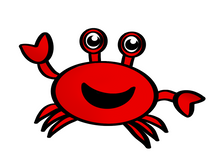 Load image into Gallery viewer, Crab Cutter - Dots and Bows Designs