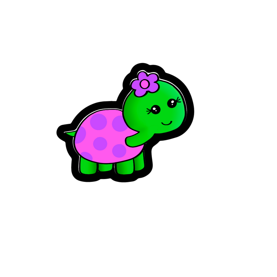 Flower Turtle Cutter