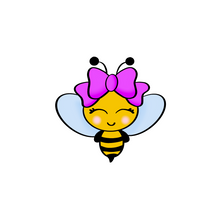 Load image into Gallery viewer, Girl Bee Cutter