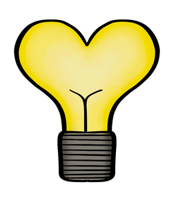 Heart Lightbulb STL Cutter File - Dots and Bows Designs