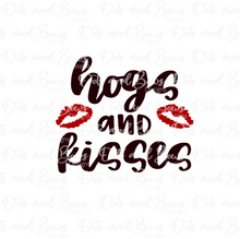 Load image into Gallery viewer, Hogs and Kisses 2-piece Stencil