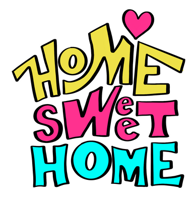 Home Sweet Home Cutter - Dots and Bows Designs