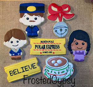 Polar Express Theme Cutters Set