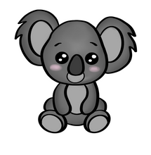 Load image into Gallery viewer, Koala Cutter - Dots and Bows Designs