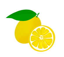 Load image into Gallery viewer, Lemons Cutter - Dots and Bows Designs