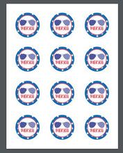 Load image into Gallery viewer, 'merica Package Tags - Dots and Bows Designs