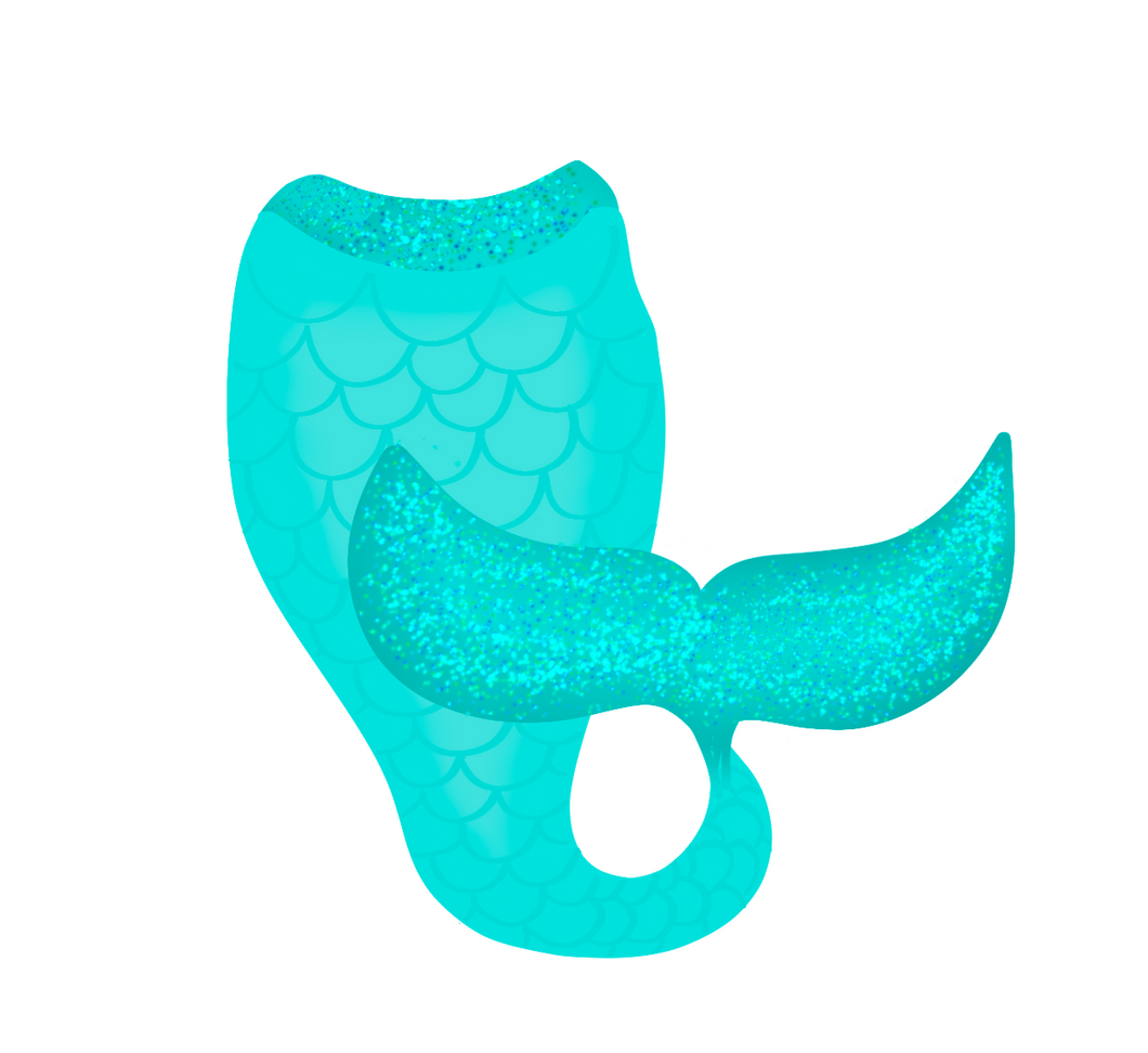 Mermaid Tail Cutter - Dots and Bows Designs