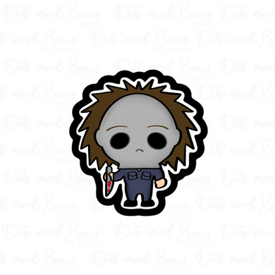 Michael Myers STL Cutter File - Dots and Bows Designs