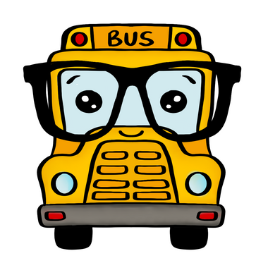 Nerdy Bus STL File - Dots and Bows Designs