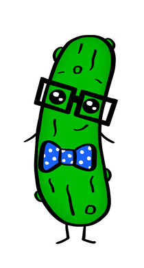 Nerdy Pickle STL Cutter File - Dots and Bows Designs