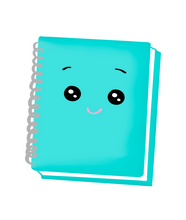 Load image into Gallery viewer, Notebook STL Cutter File - Dots and Bows Designs