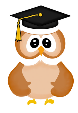 Grad Owl Cutter Set - Dots and Bows Designs