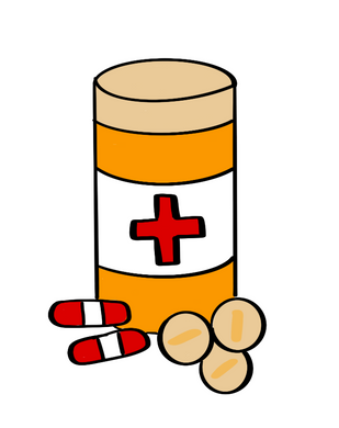 Pill Bottle Cutter - Dots and Bows Designs