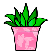 Load image into Gallery viewer, Potted Succulent STL Cutter File - Dots and Bows Designs