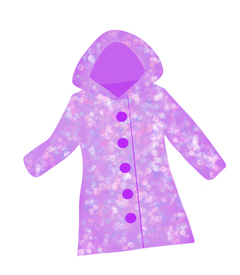 Rain Coat Cutter - Dots and Bows Designs