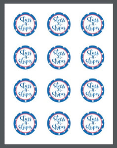 Stars and Stripes Package Tags - Dots and Bows Designs