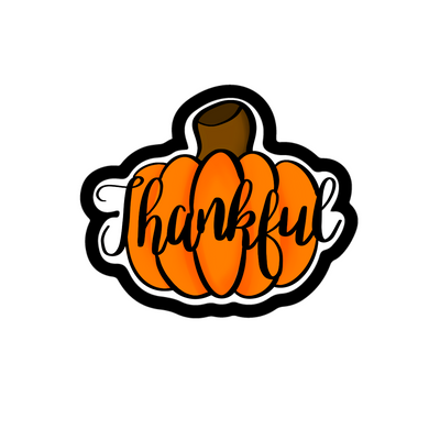 Thankful Pumpkin STL Cutter File