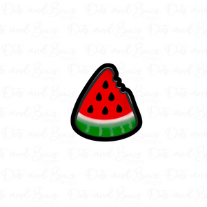 Watermelon Slice Cutter - Dots and Bows Designs