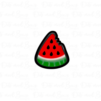 Watermelon Slice STL Cutter File - Dots and Bows Designs