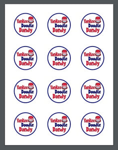 Yankee Doodle Package Tags - Dots and Bows Designs