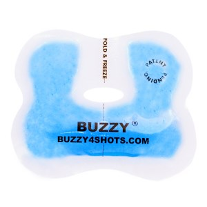 Buzzy Blue Gel Wings (5-Pack) Single patient Use