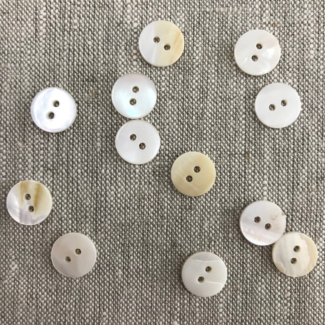 Buttons MOP 12.5mm (6)