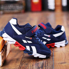 navy Sport Trainers