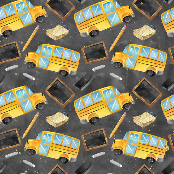 School bus 1 yard CL knit 260 gsm