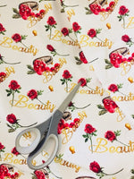Princess Rose Beauty 1 yard CL knit 260 gsm in stock