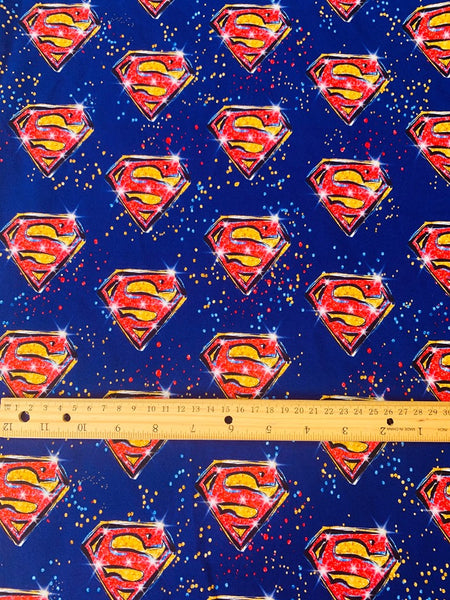 Superheroes 0012 1 yard CL knit 260 gsm