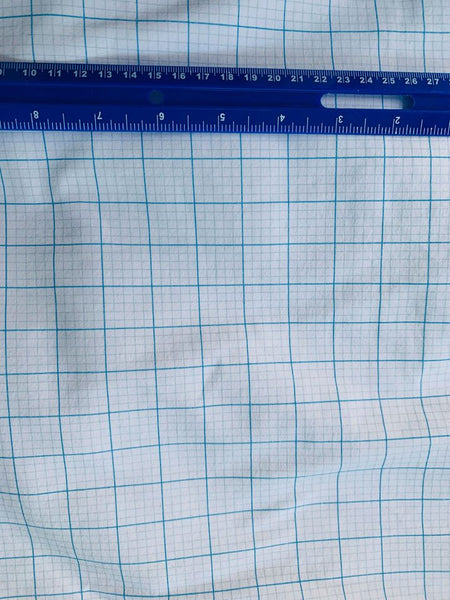 Grid paper 1 yard CL knit 260 gsm