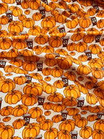 Pumpkin Spice Latte 005 1 yard CL 260 gsm