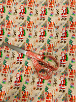Mini Santa 1 yard CL knit 260 gsm