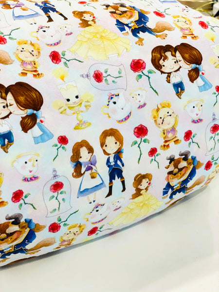 Princess Belle  fairytale princesses 1 yard CL knit 260 gsm in stock