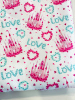 Princess Castles 1 yard CL knit 260 gsm in stock