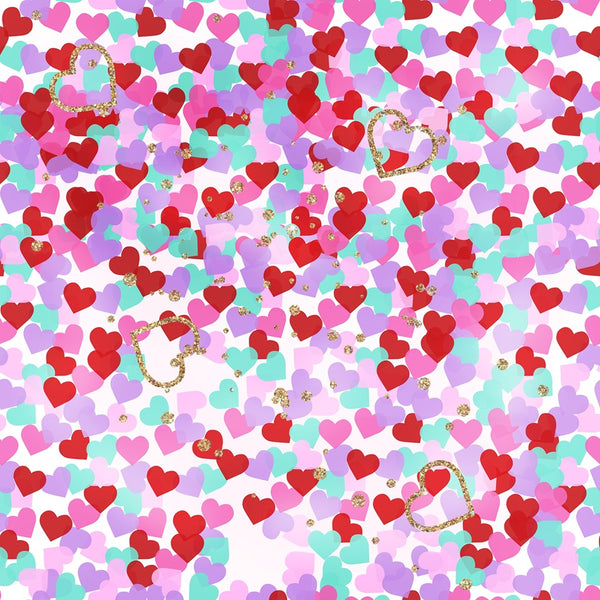 Valentines Fl03 CL knit , 260 gsm, 1 yard  in stock
