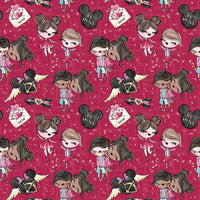 XOXO Valentine 03 Collection 01 CL knit , 260 gsm, 1 yard in stock