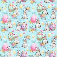 Easter Bunny Day 1 yard CL knit 260 gsm in stock