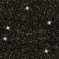 Black Faux glitter 1 yard in stock