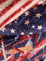 "4th of July 0025 7/8"" STRIPES yard CL knit 260 gsm"